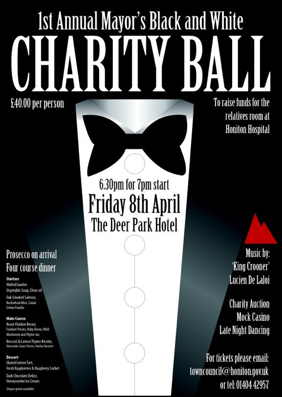 1st Annual Mayors Black And White Charity Ball