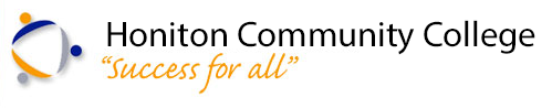 Honiton Community Collage Logo