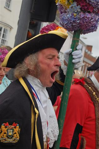 Honiton Town Cryer